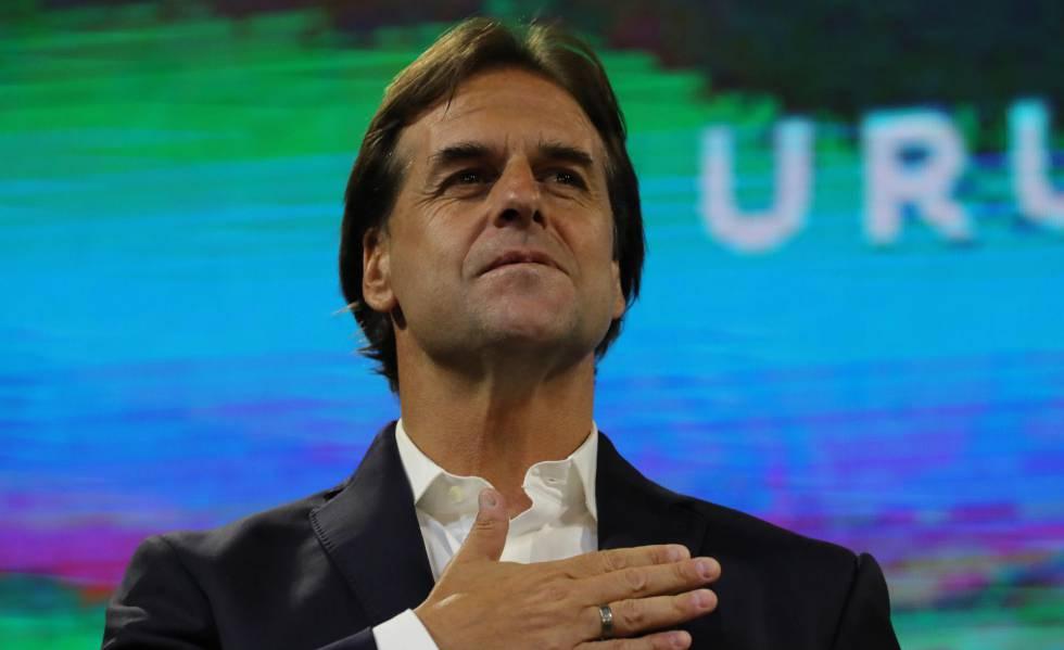 Lacalle Pou, nuevo presidente de Uruguay