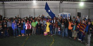 Nacionalistas en Intibucá.