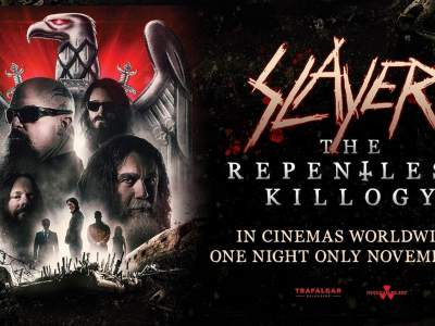Cartel promocional de la película Slayer