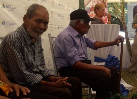 Hombres de 100 y 109 años