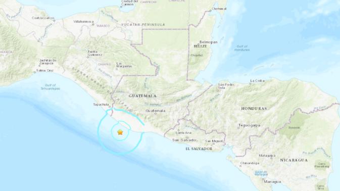 Sismo de magnitud 5,6 sacude Guatemala