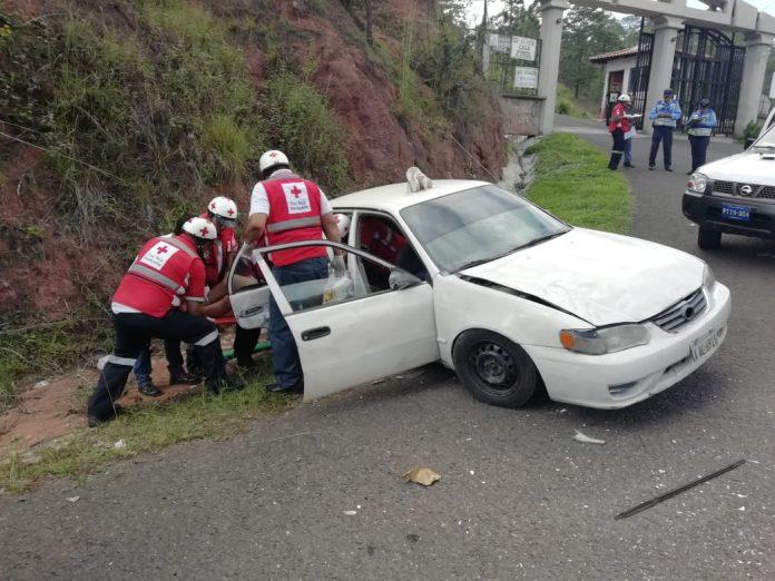 Accidente en el Oriente de Honduras