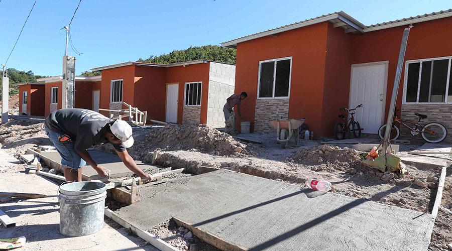 Proyecto habitacional en Honduras.