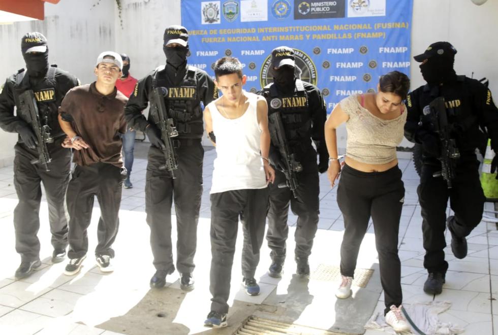 Capturan supuestos pandilleros