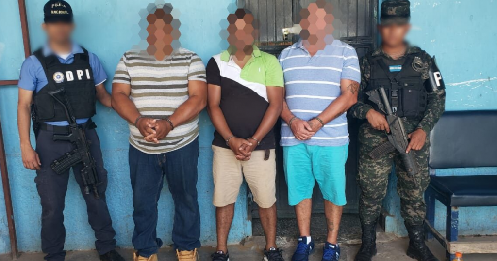 Arrestados Olanchito