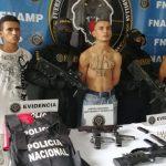 Detenidos en San Pedro Sula