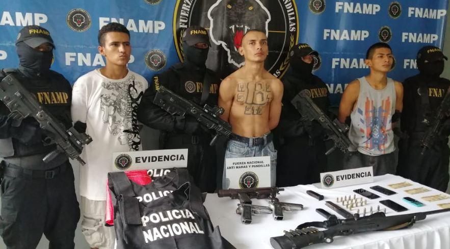 Caen tres supuestos pandilleros implicados en la muerte de dos personas en San Pedro Sula