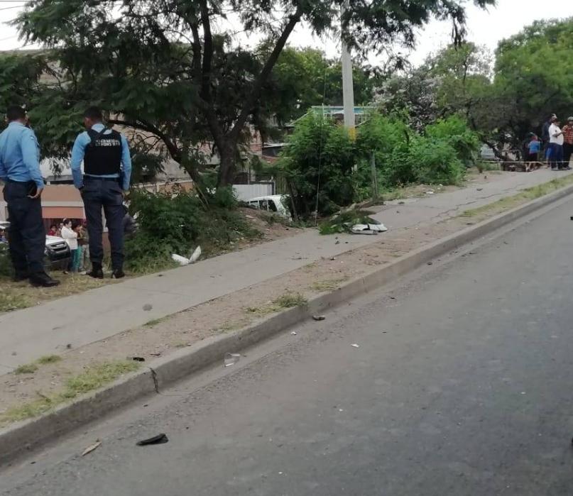 Pareja muere atropellada en Tegucigalpa