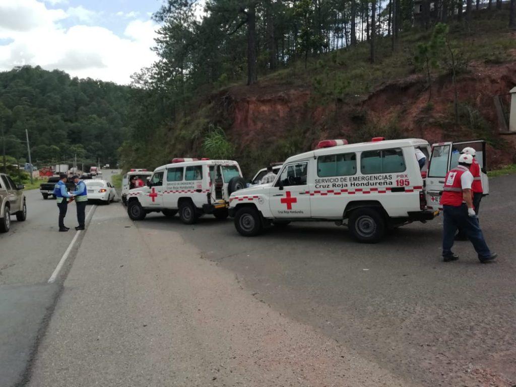 Accidente en Oriente de Honduras
