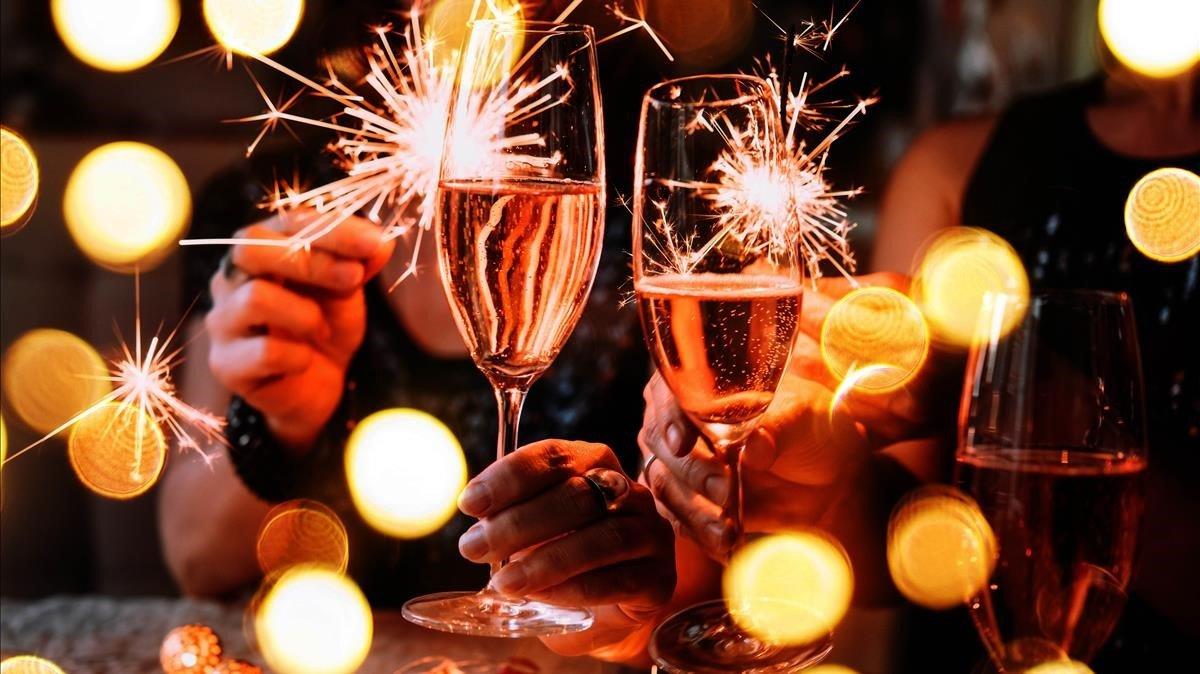 Bienvenida año nuevo.