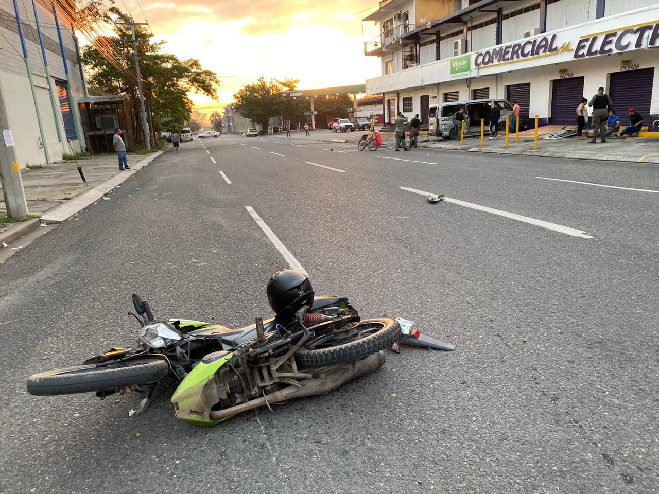 Al menos cuatro personas lesionadas deja colisión en San Pedro Sula