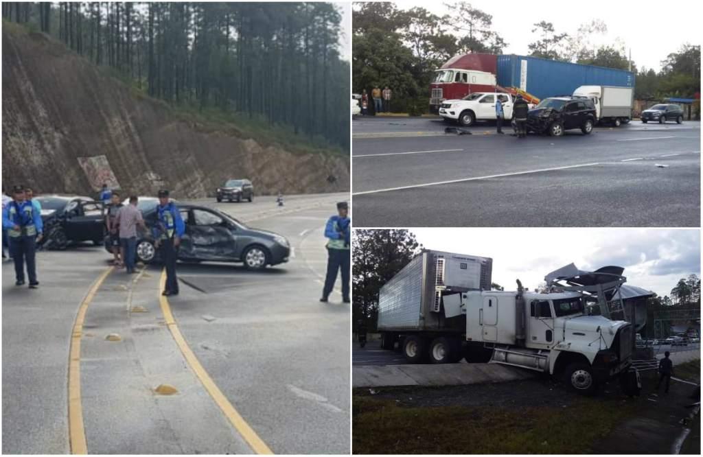 Cada 24 horas cinco personas pierden la vida  en accidentes de tránsito en Honduras