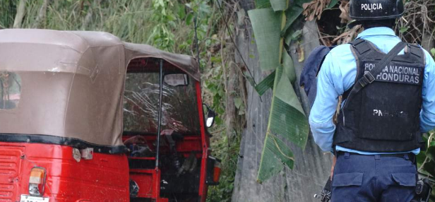 Matan a conductor de mototaxi en Tegucigalpa