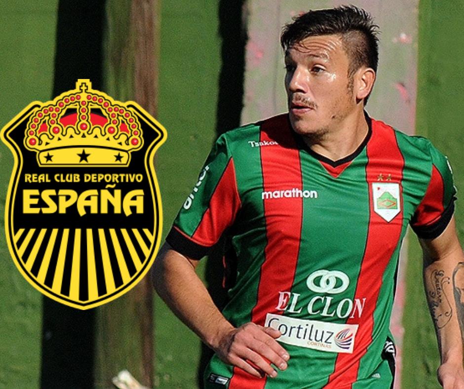 Matías Soto, nuevo jugador del Real España