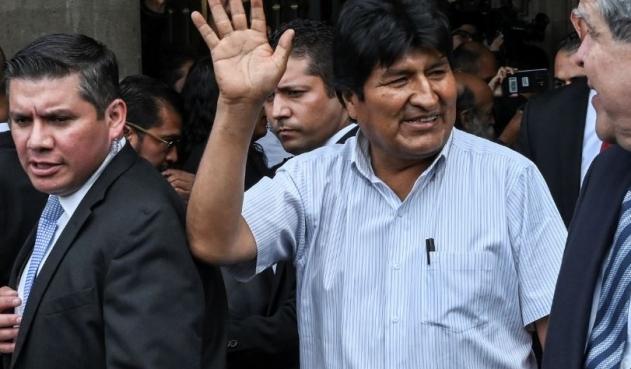 """Evo Morales llegó a Argentina y se quedará como """"refugiado"""""""