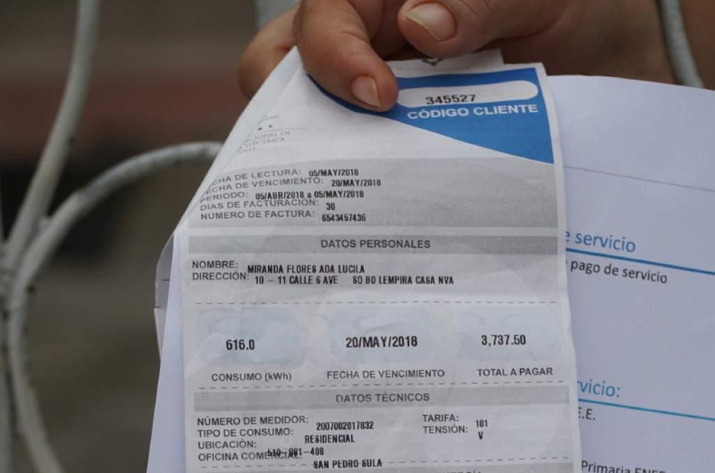 Aún no se publica en La Gaceta el decreto que elimina el 15% del ISV de la factura por consumo de energía eléctrica