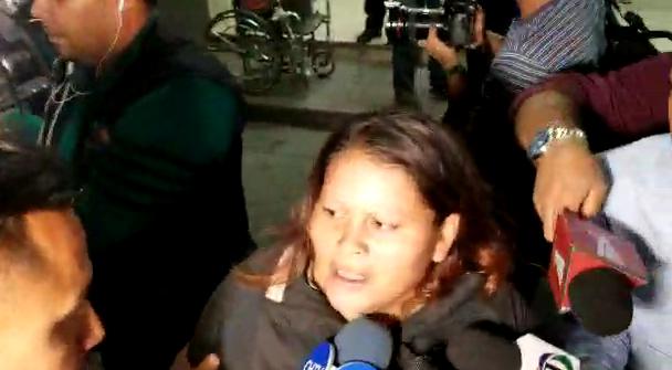Familiares de heridos en enfrentamiento.