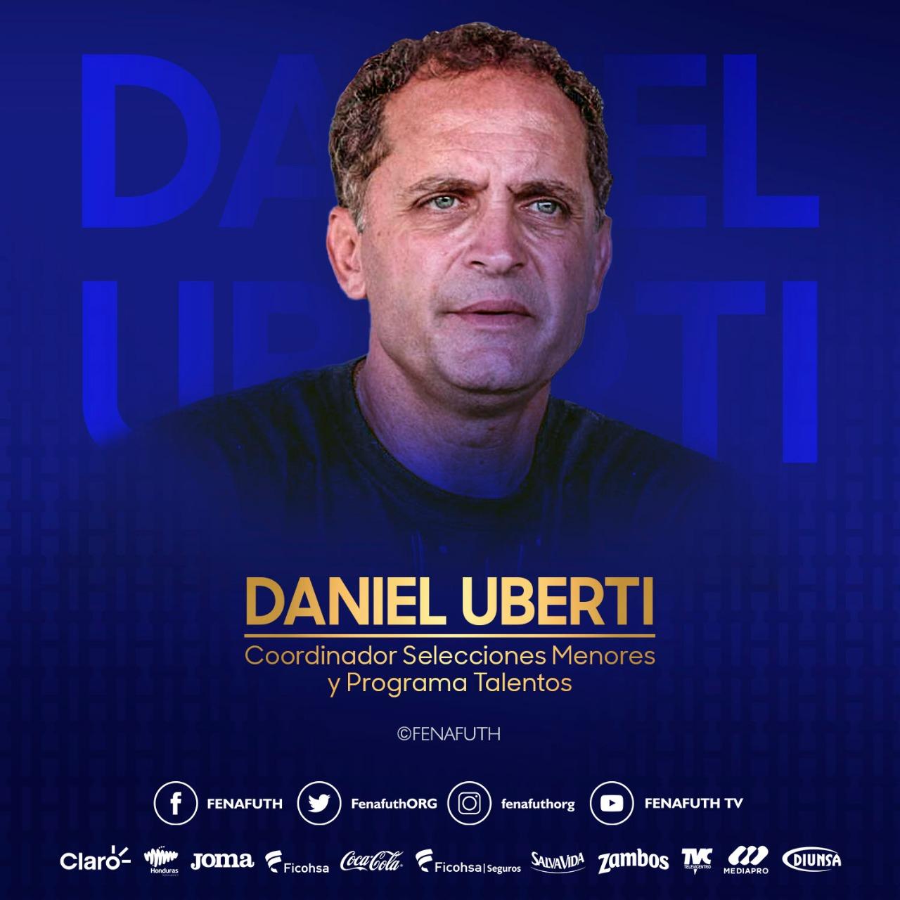 Daniel Uberti es el nuevo coordinador de selecciones menores en Honduras
