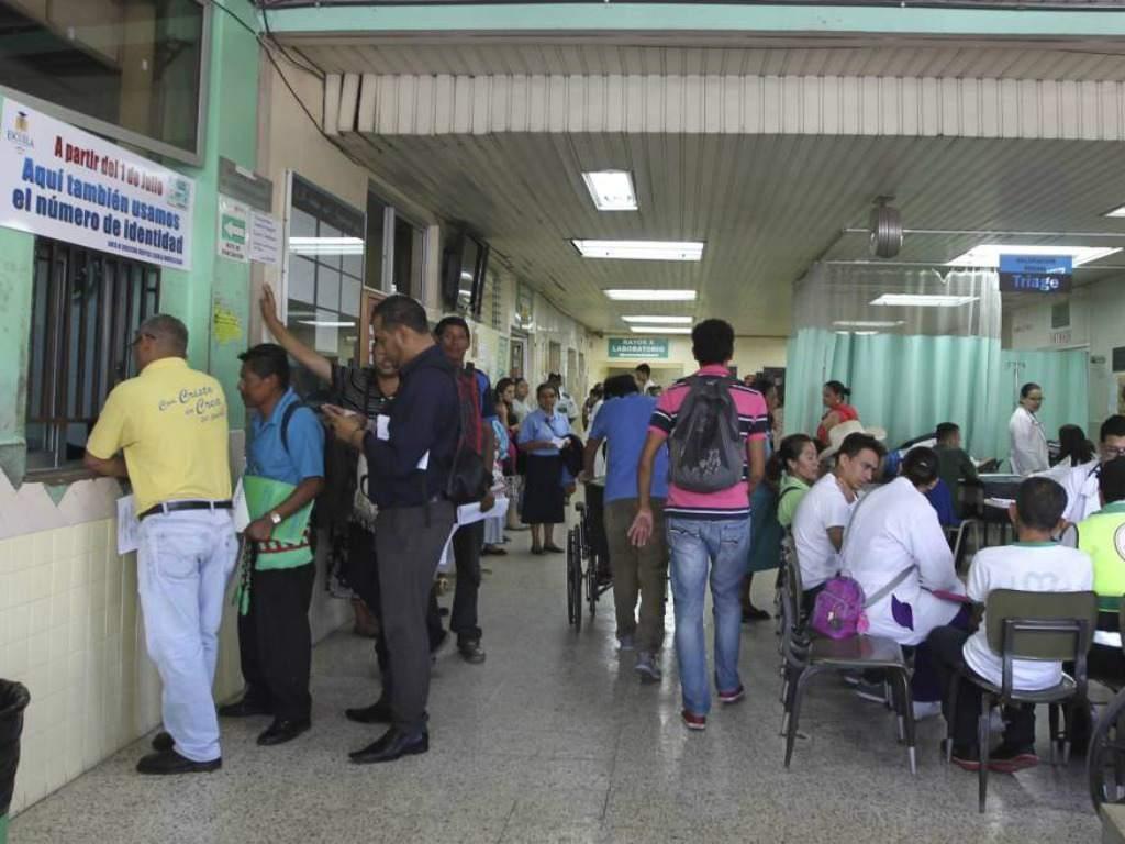 Médicos en Honduras.