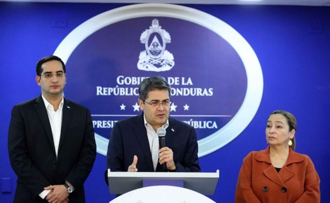 Honduras no pide limosna, ni condonación de deuda, dice presidente Hernández