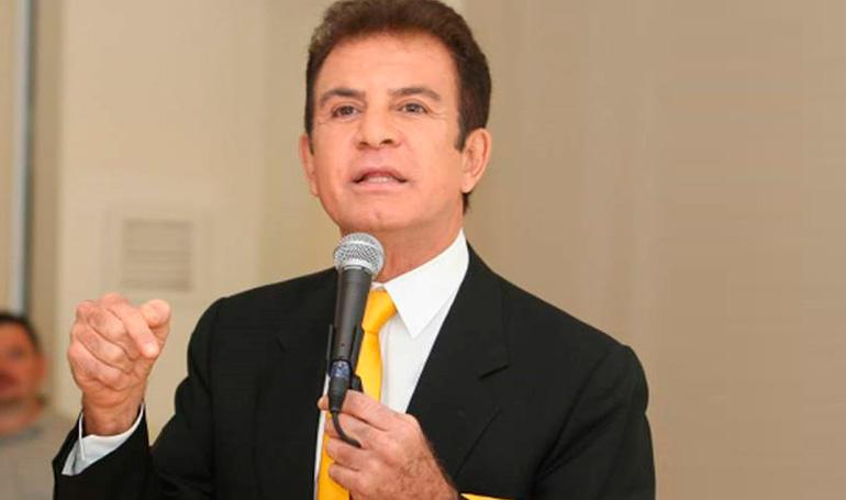 """Nasralla """"En Honduras el 99% de la gente está contra JOH"""""""