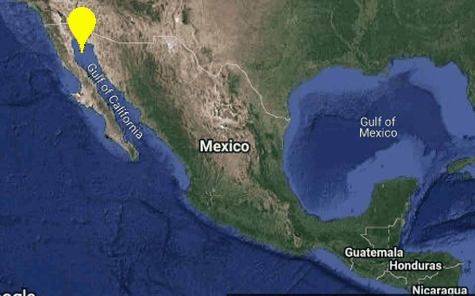Sismo de 4.8 grados sacude Baja California