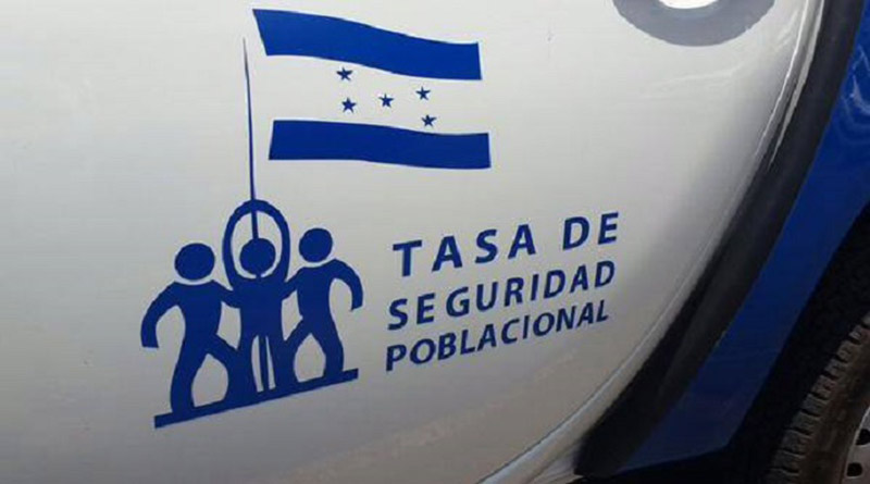 Tasa de Seguridad en Honduras.