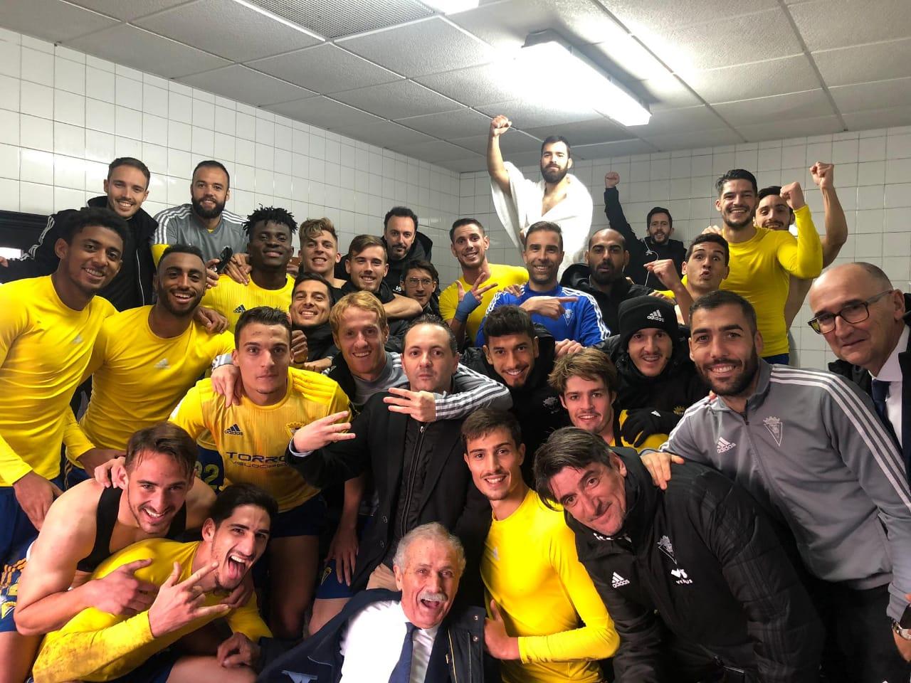 Cádiz avanza en la Copa del Rey