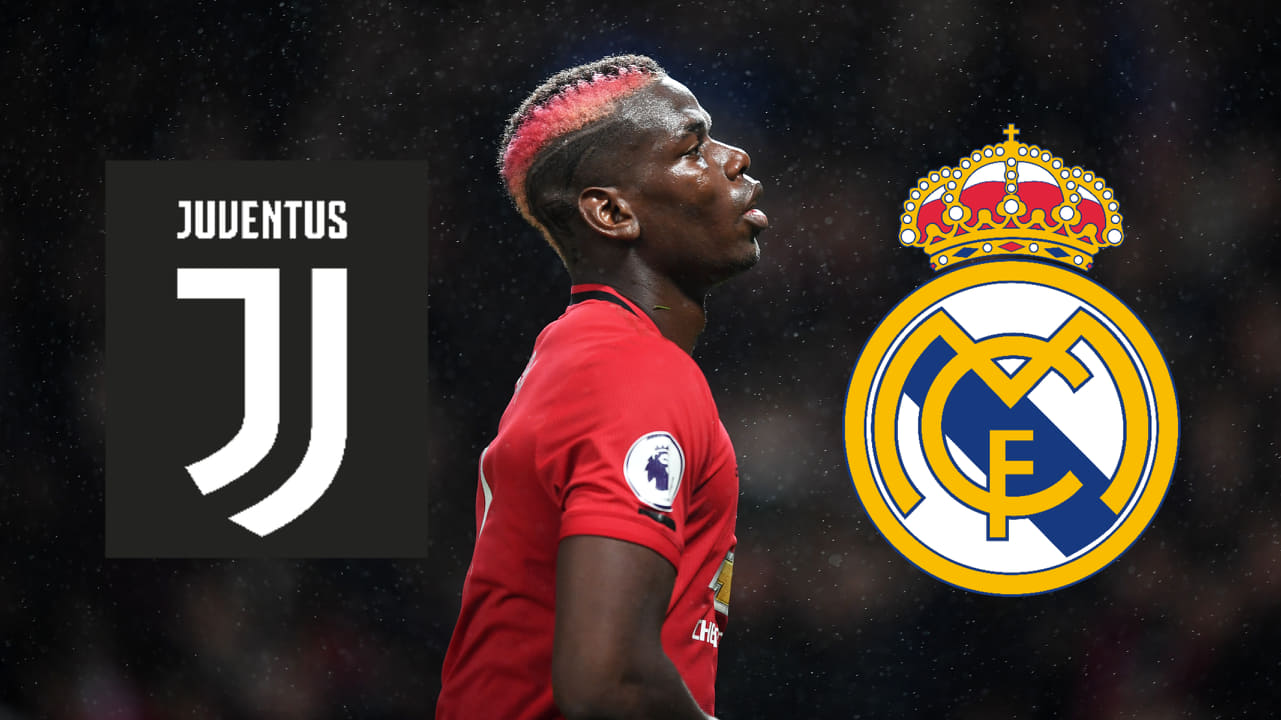 Pogba, entre Juventus y el Madrid