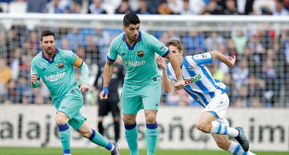 Real Sociedad empató con el Barça