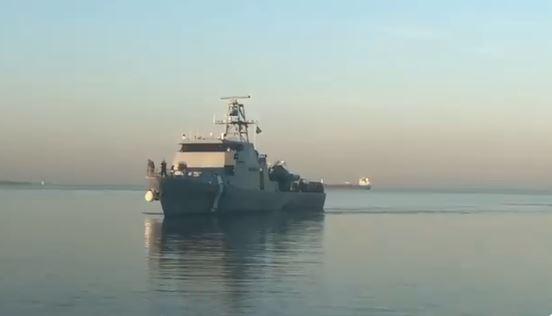 Así es el buque valorado en 54 millones de dólares que Israel entregó a Honduras
