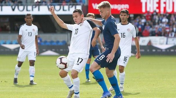 Estados Unidos y Costa Rica jugarán amistoso en febrero