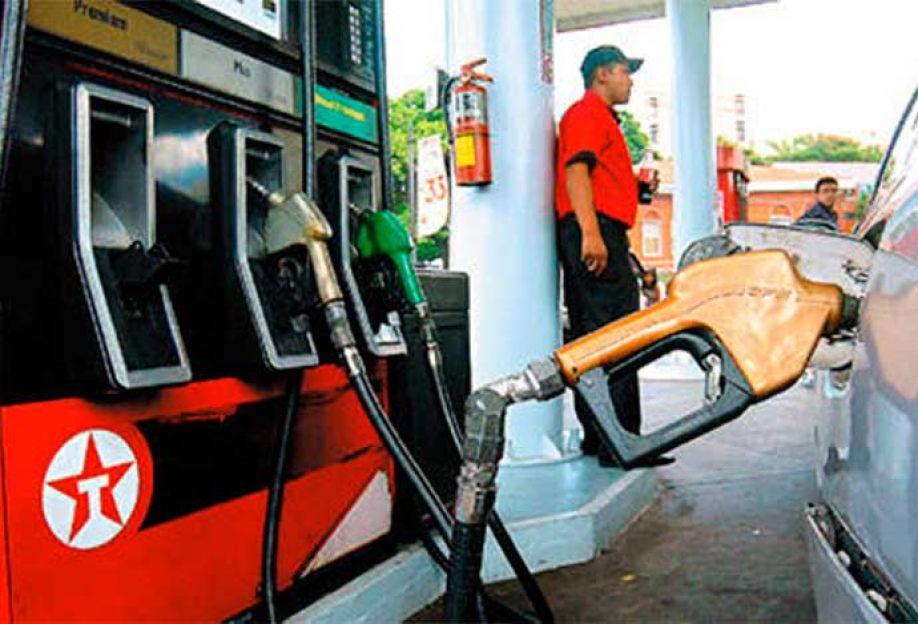 Precios de los combustibles aumentarán a partir del próximo lunes
