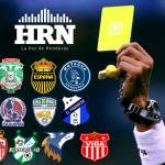 Árbitros fecha 4 Liga Nacional