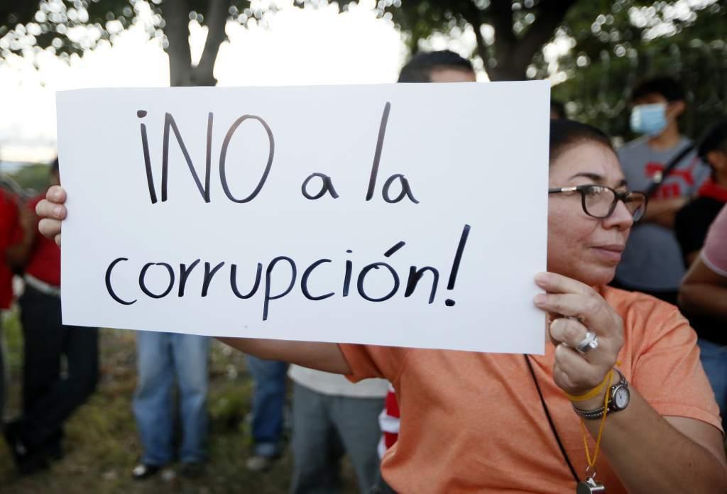 Corrupción en Honduras.