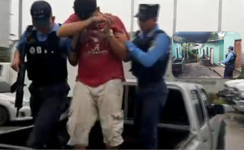Capturan a un presunto asesino de una mujer prestamista en el Norte de Honduras