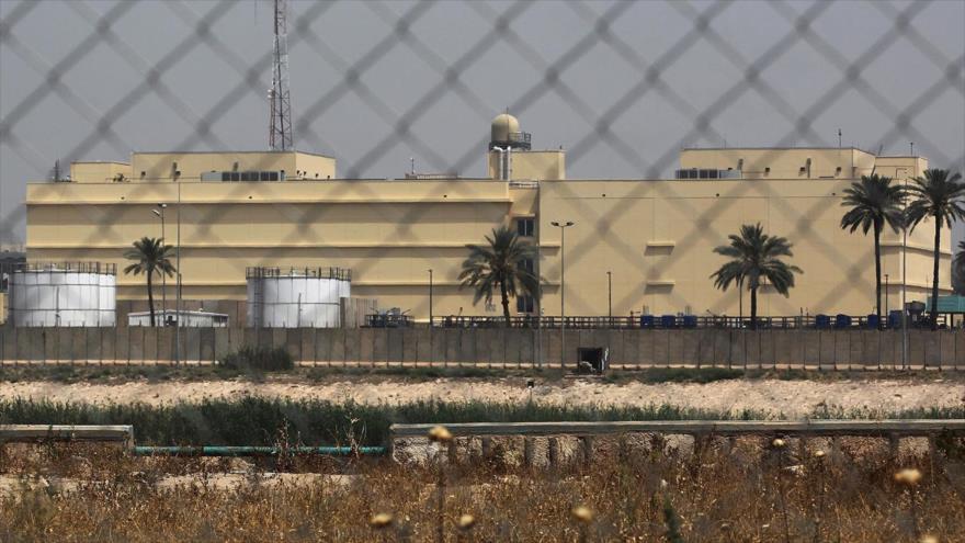 Tres cohetes impactan cerca de la Embajada de EEUU en Irak