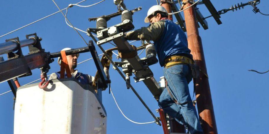 Corte de energía eléctrica.