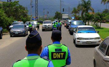 Faltas de tránsito en Honduras.