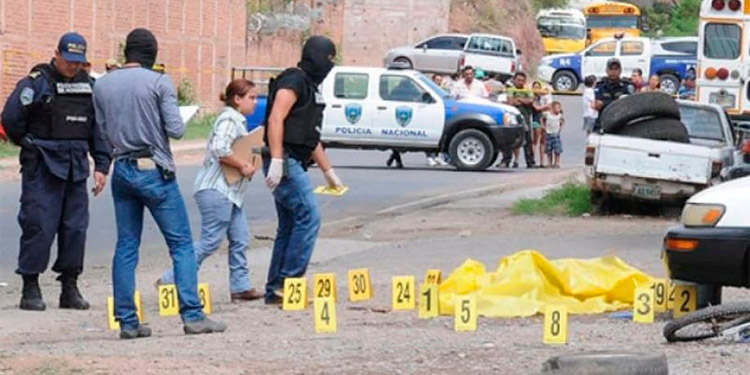 Homicidios en Honduras