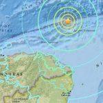 Honduras bajo alerta tsunami.