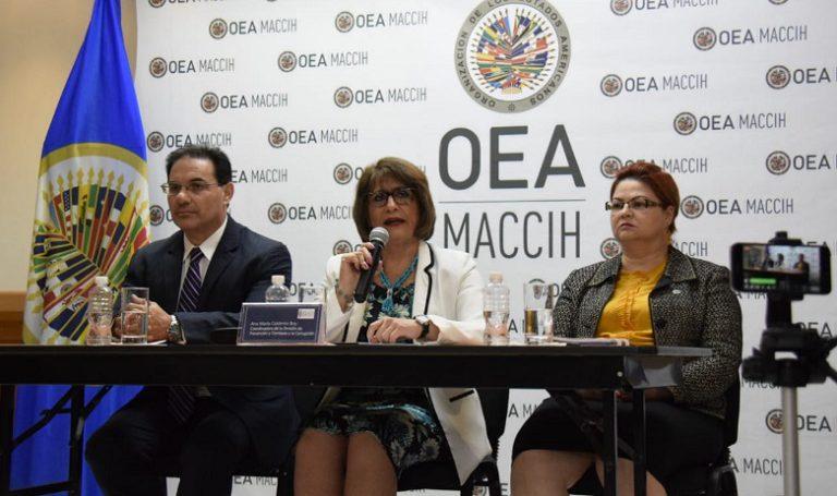 Senadores Demócratas y Republicanos de EEUU piden renovar la Maccih