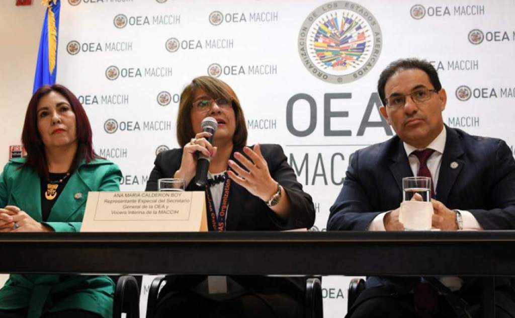 No hay acuerdo entre el Gobierno de Honduras y OEA para la renovación de la Maccih