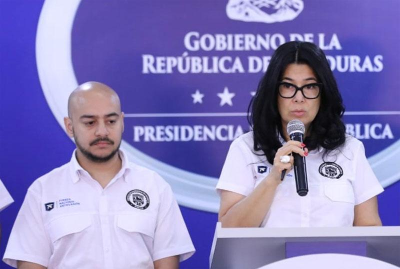 Interventora Miriam Guzmán.