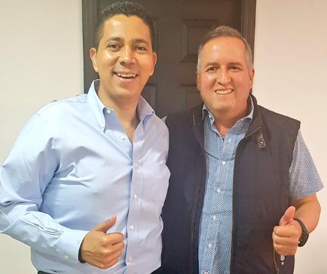Ricardo Álvarez y Reinaldo Sánchez se comprometen a trabajar por los que menos tienen