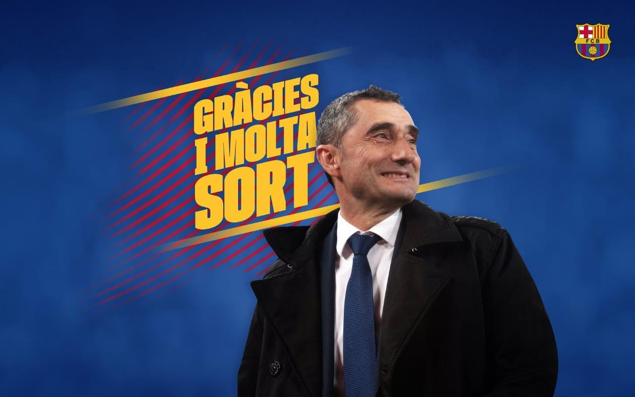 OFICIAL:  Valverde no sigue en el Barcelona y llega Setién