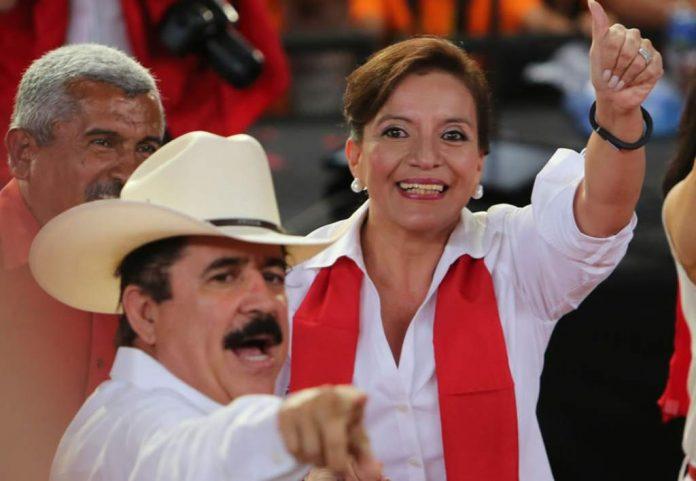 Xiomara Castro a la presidencia.