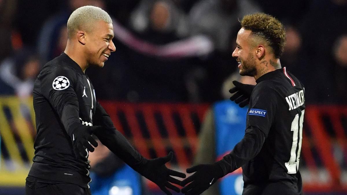PSG prioriza por Mbappé, antes que por Neymar