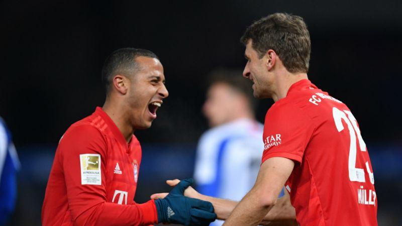 Hertha perdió con Bayern