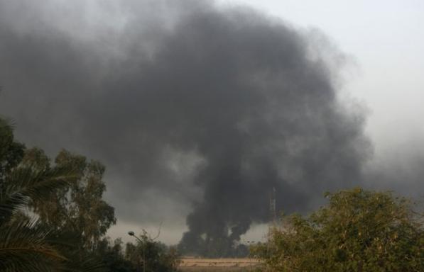 Bombardean la embajada de Estados Unidos en Irak